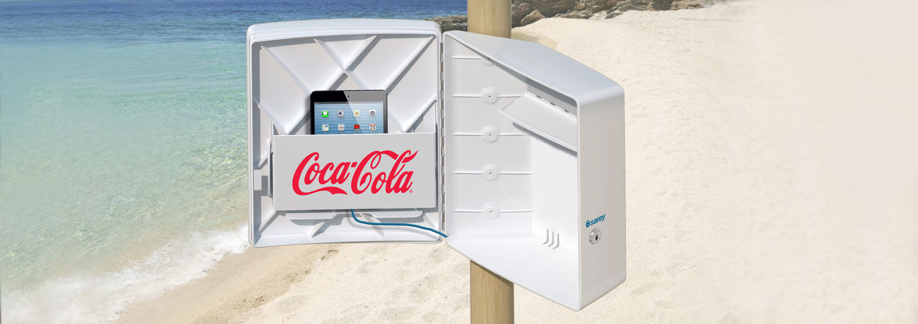 Safey Safety Box Secures Your Valuables At The Beach