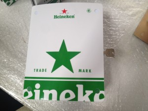 Heineken Customisation Close Up